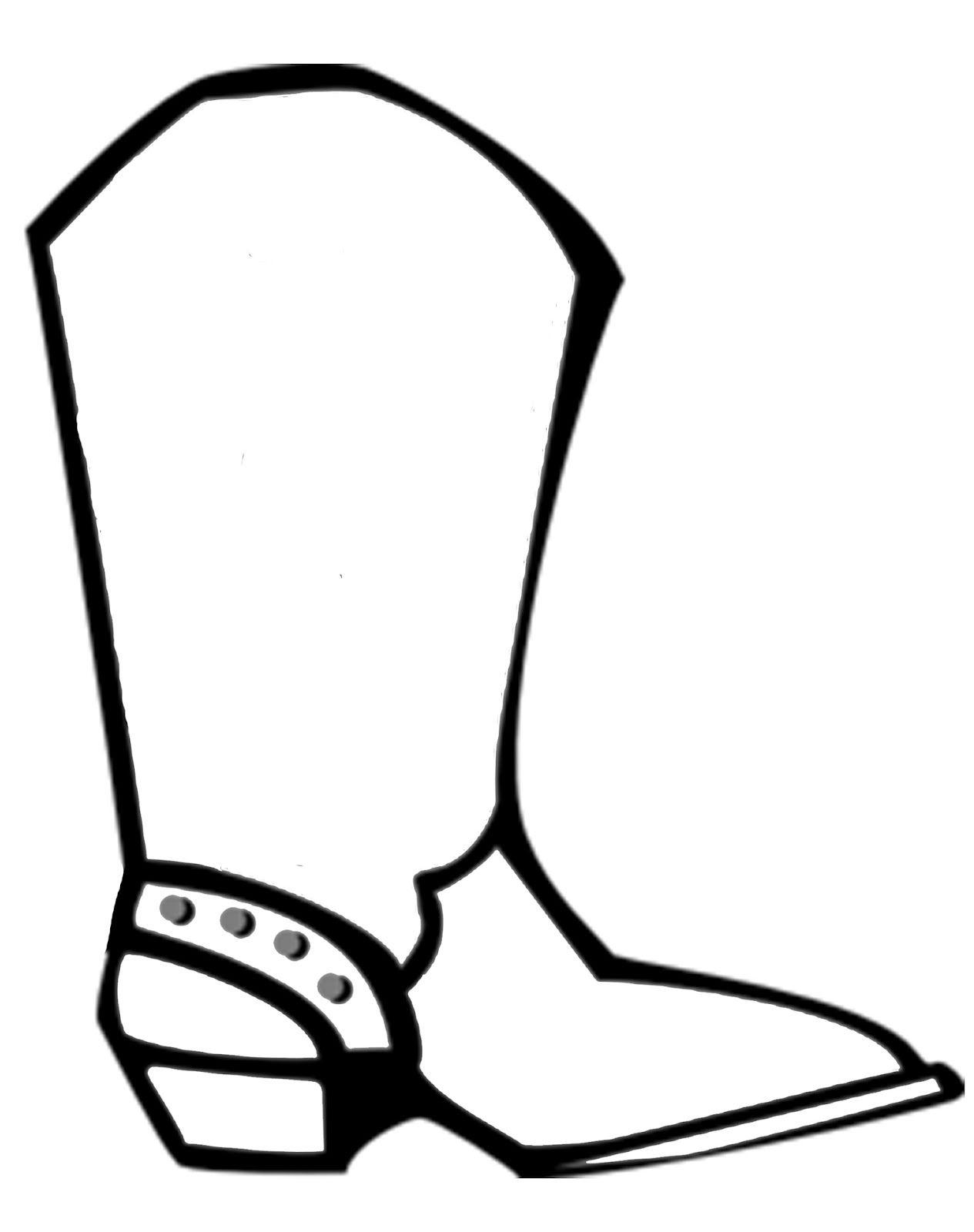 Simple drawing cowboy.