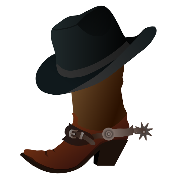 Western clipart free.