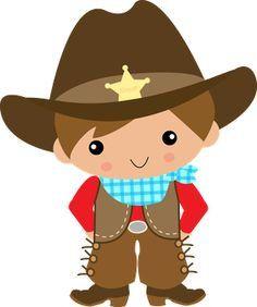 Adorable lil cowboy.