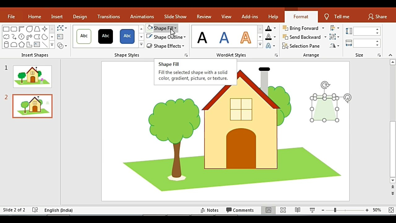 How to create your own Clipart Image using Powerpoint