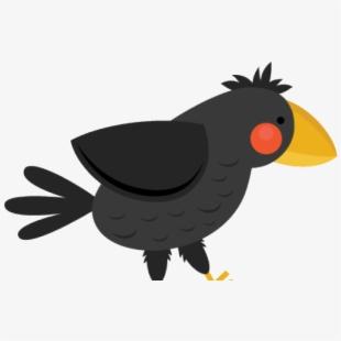 crow clipart cute