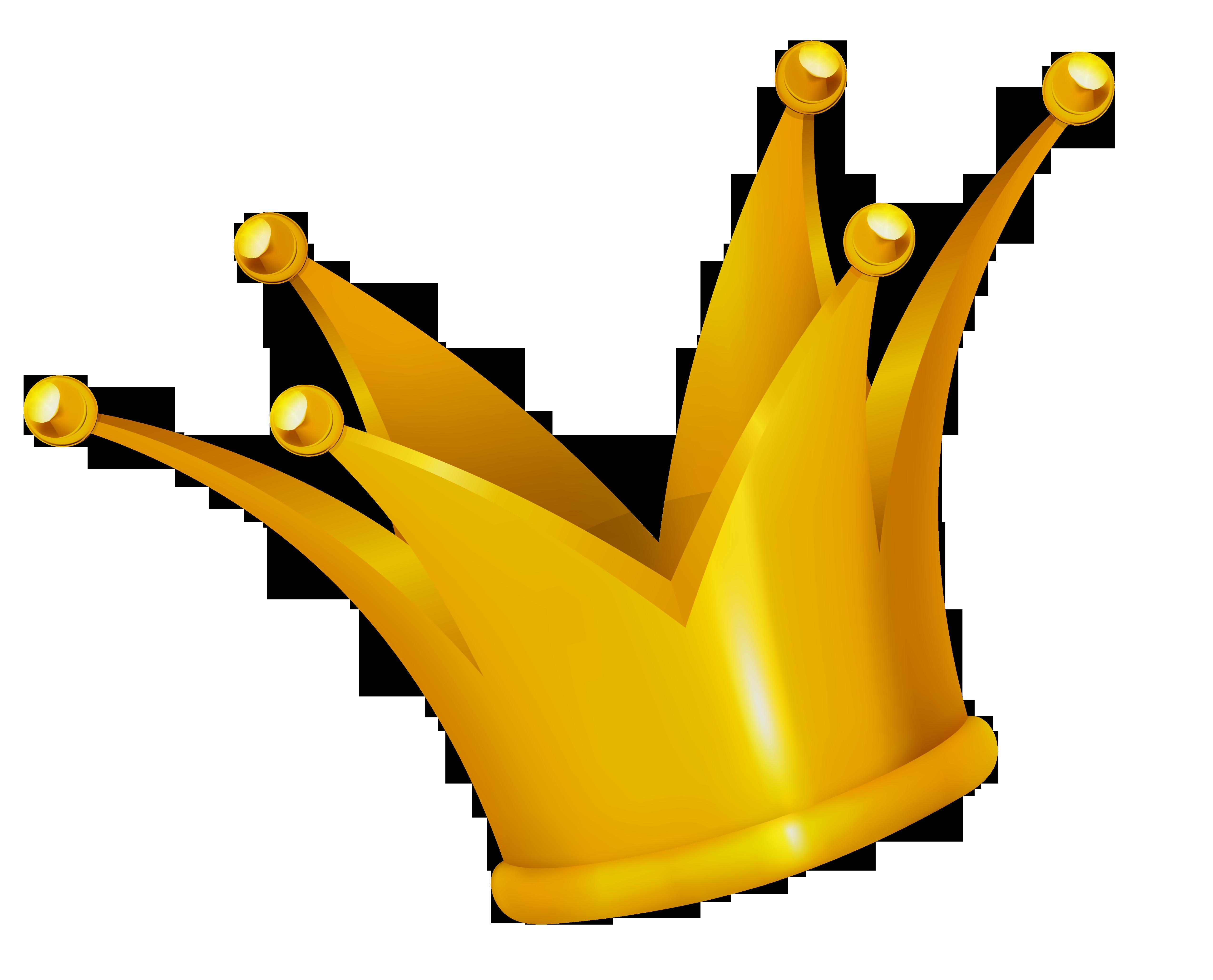 Free golden crown.