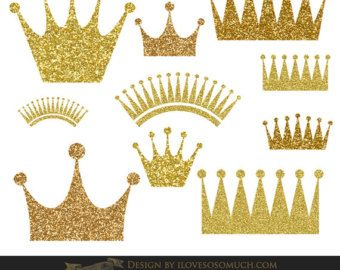 Gold crown crown.