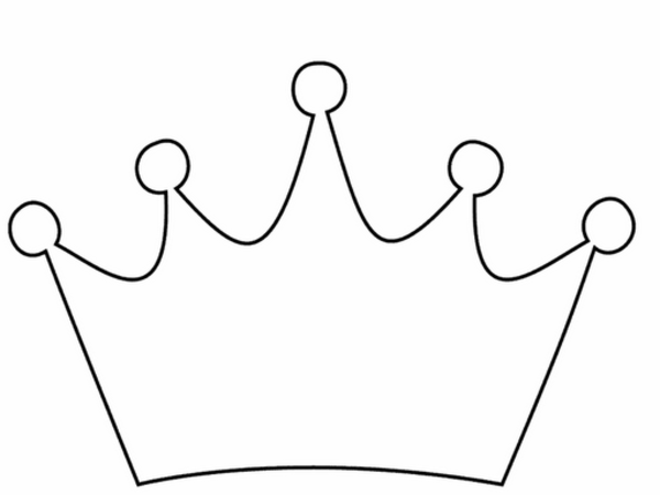 Free crown outline.
