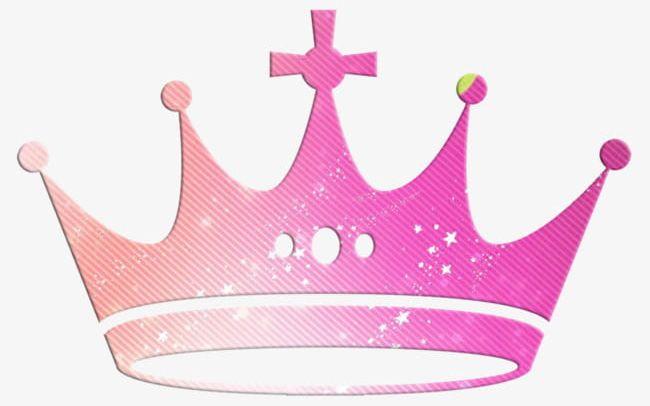 Pink crown material.