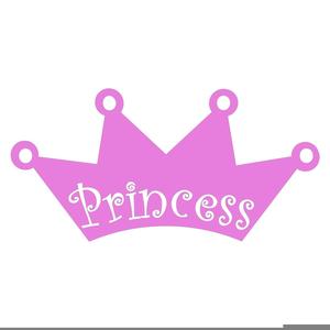Pink princess crown.
