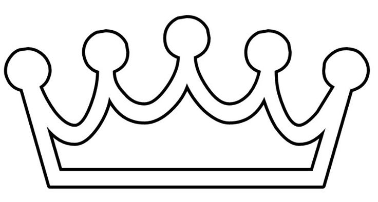Princess crown printable.