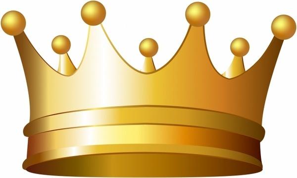 Crown free vector.