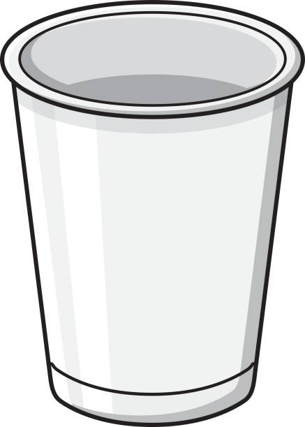 cup clipart white