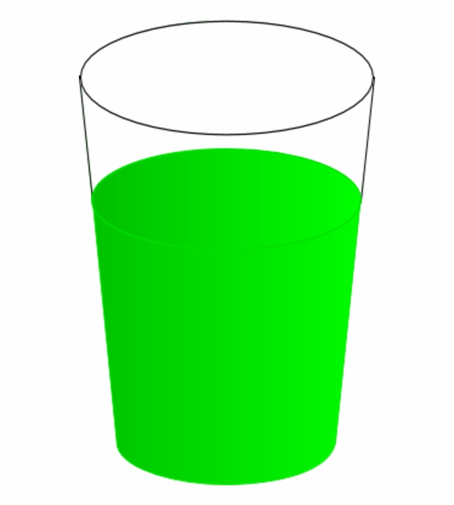 Drinking glass cup.