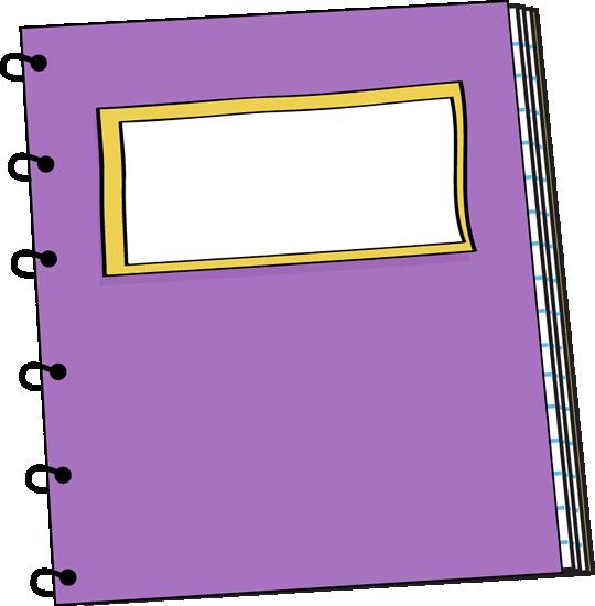 Free blank notebook.