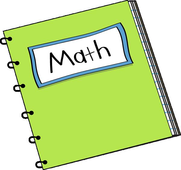 Math notebook clip.