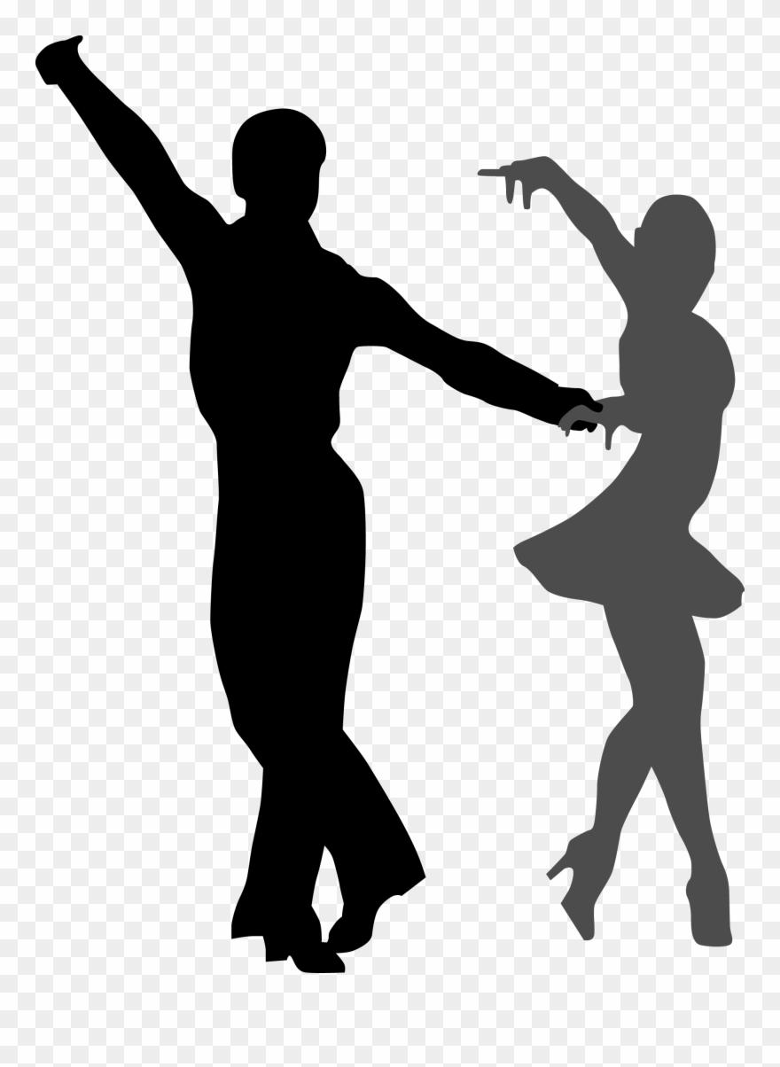 Ballroom dance dancing.