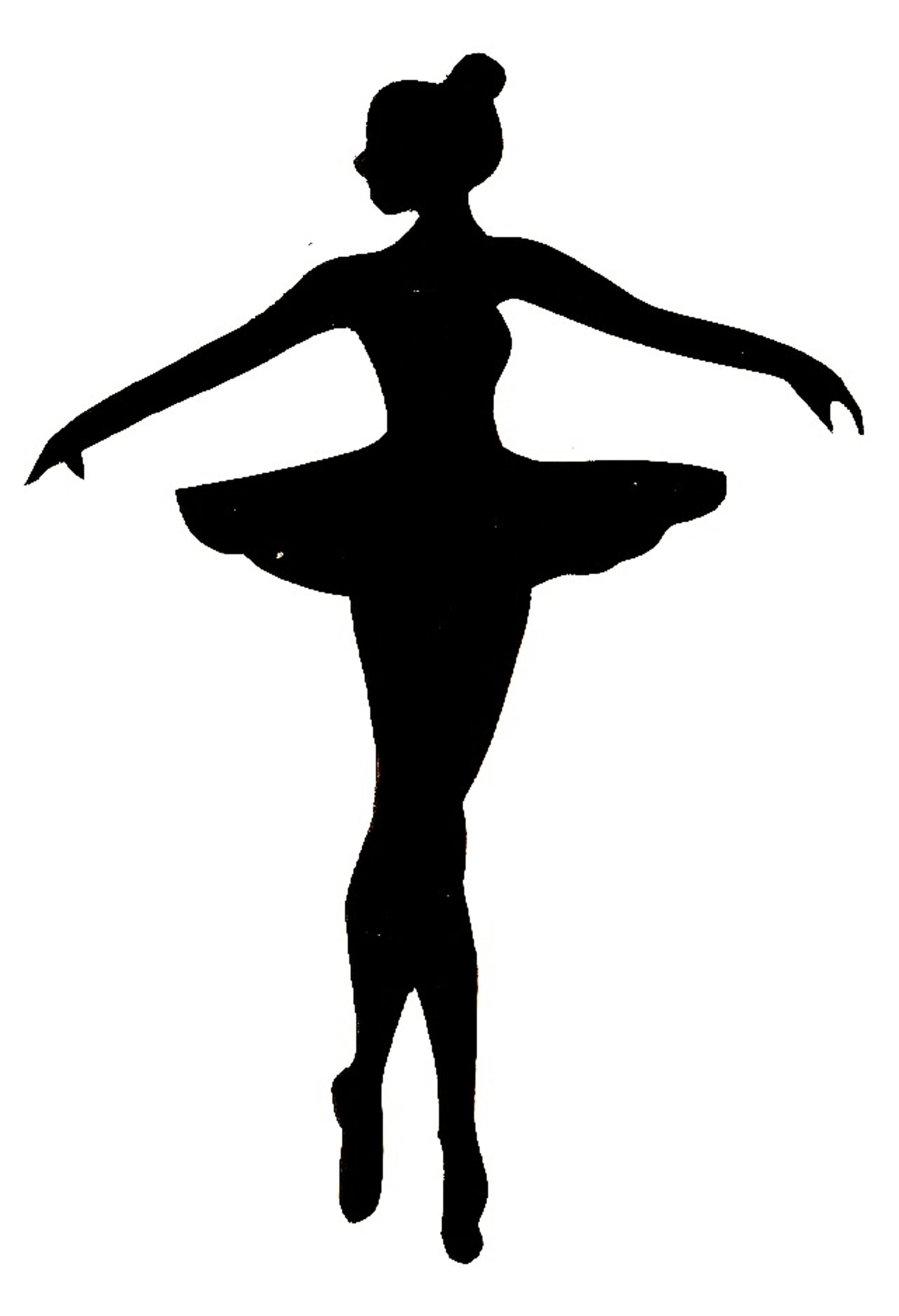 bailarina clipart easy