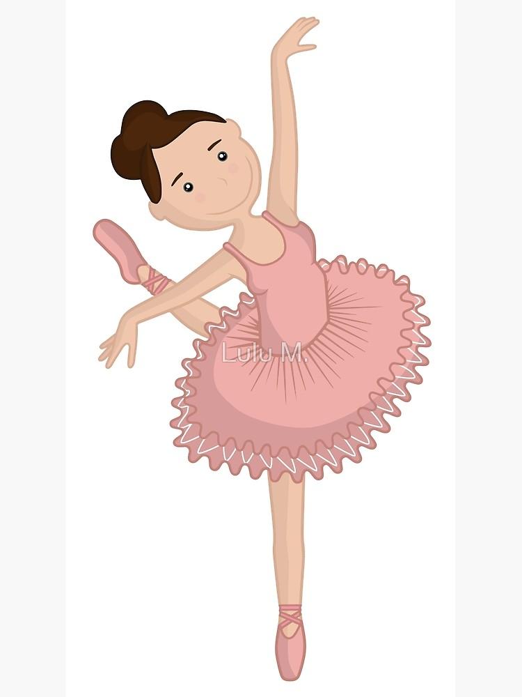 Cute ballerina pink.