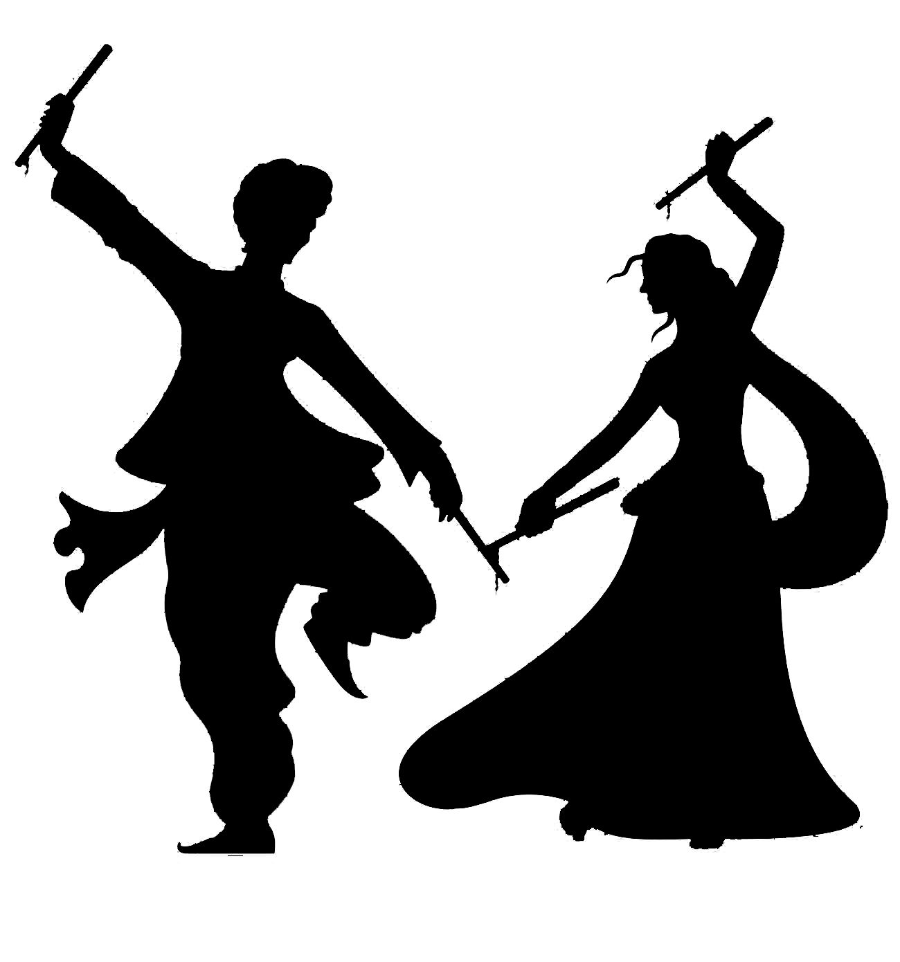 Clipart folkdance indian.