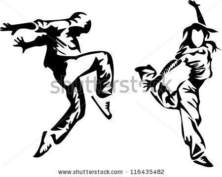 Hip Hop Dancer Clipart