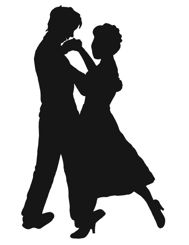 People dancing clipart.