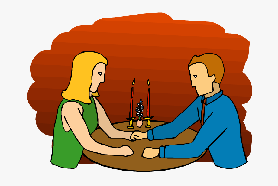 Date clipart couples.
