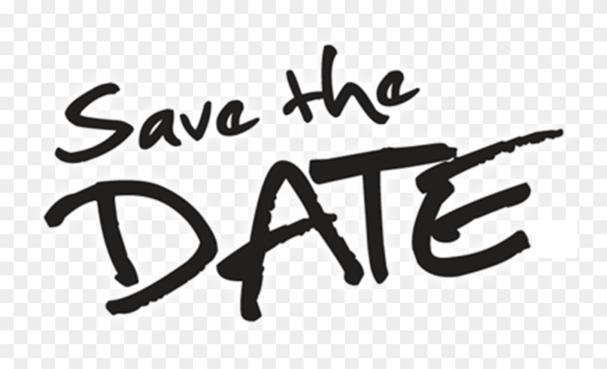 Save The Date Transparent Background