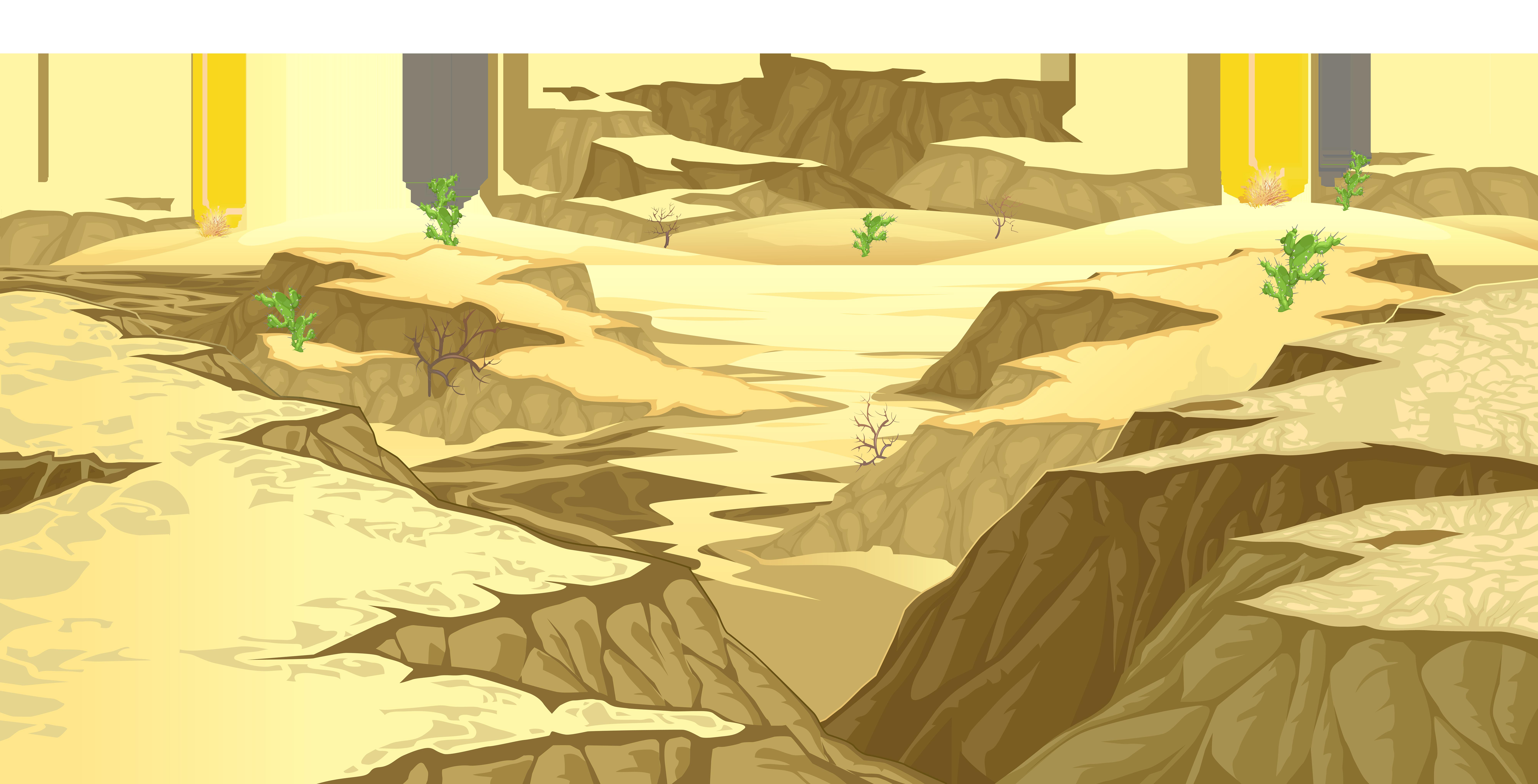 Desert ground cover.