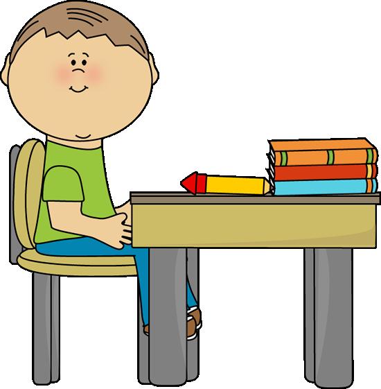 Enough clipart kid. Enough clipart kid. School boy at desk