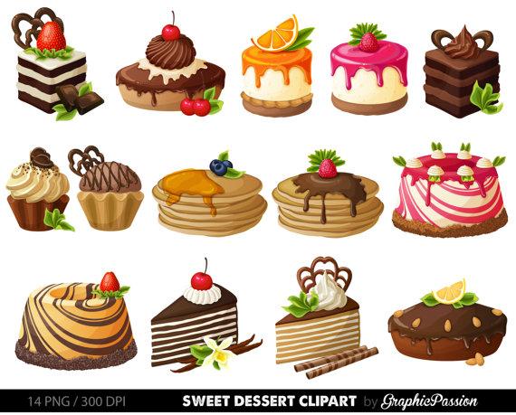 Bakery clipart dessert.