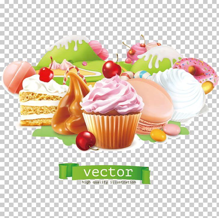 Cupcake bakery dessert.