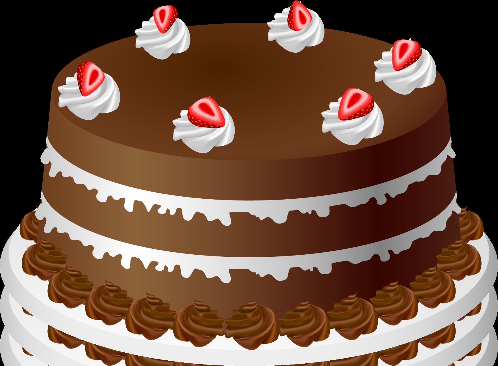 Dessert cakes clipart.