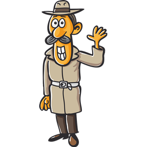 Detective clipart male. Cliparts of free download