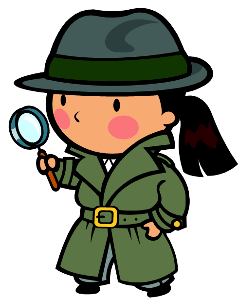 lost and found clipart investigation