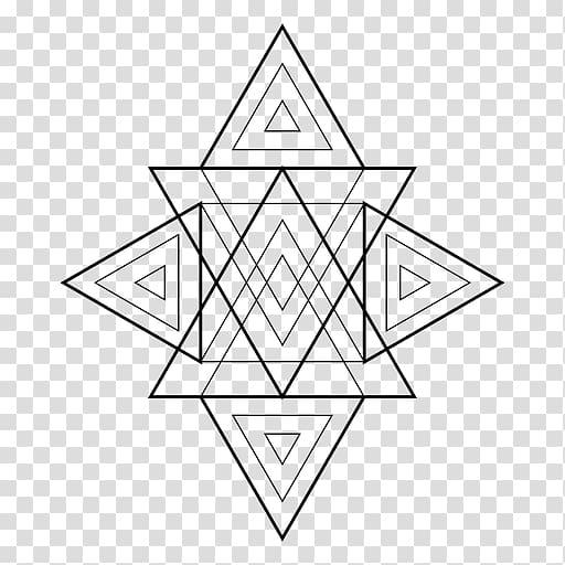 Triangle sacred geometry.
