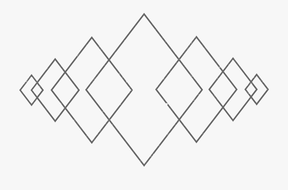 Diamond art geometry.