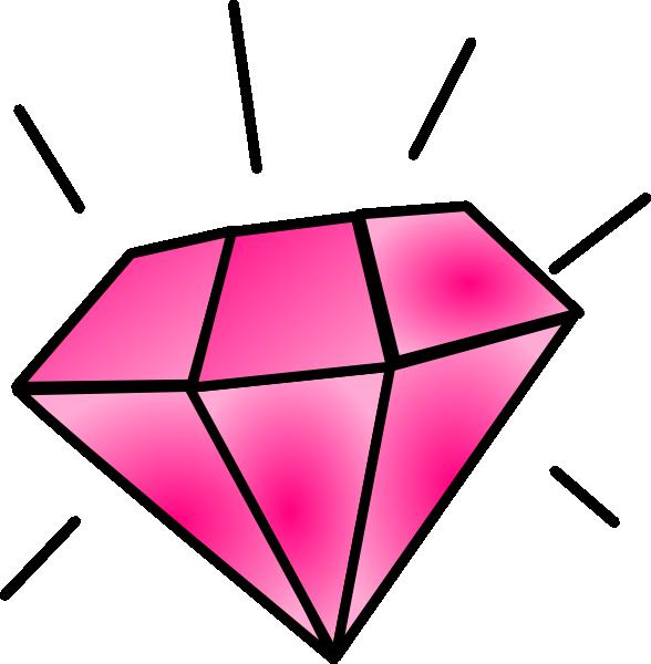 Glitter clipart diamond.
