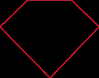 Free diamond shape.