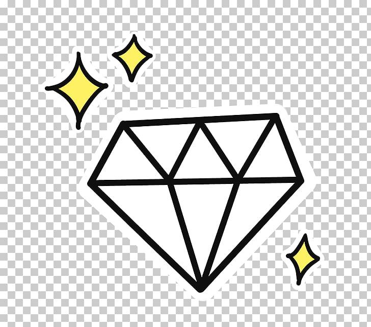 Diamond cartoon sparkling.