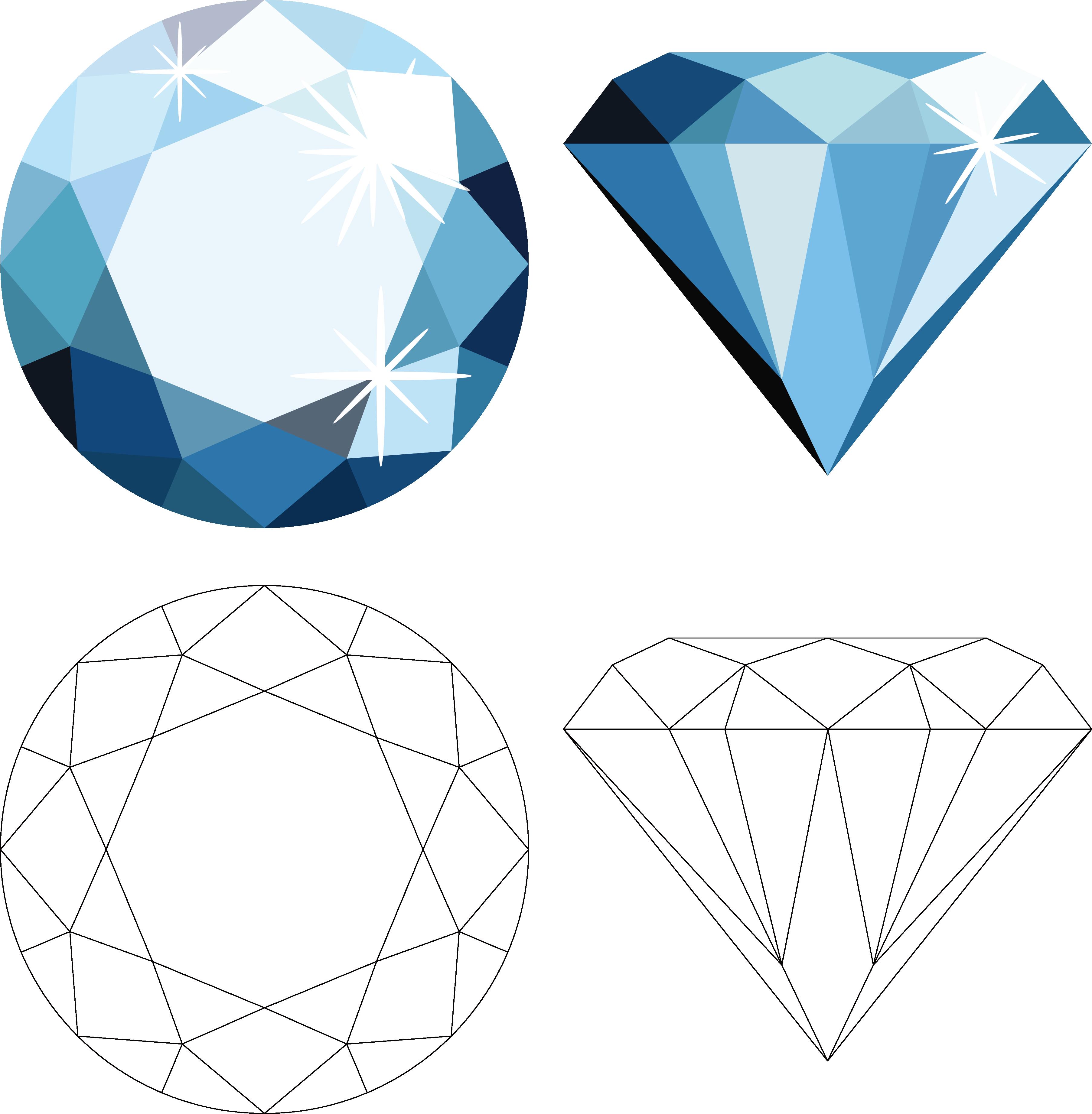 Download vector diamond.