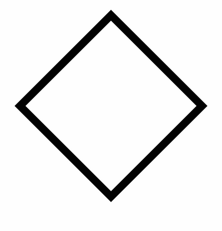 Shape rhombus geometric.