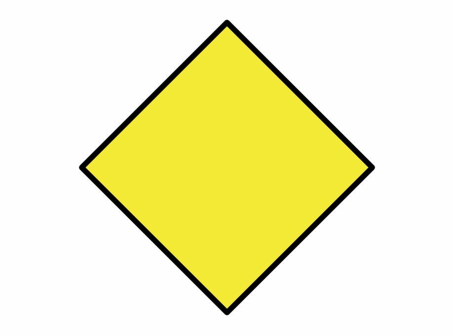 Yellow diamond clip.