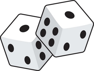 Free dice clipart.