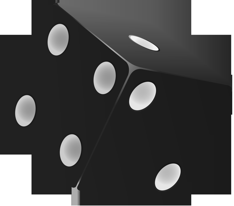 Black dice png.