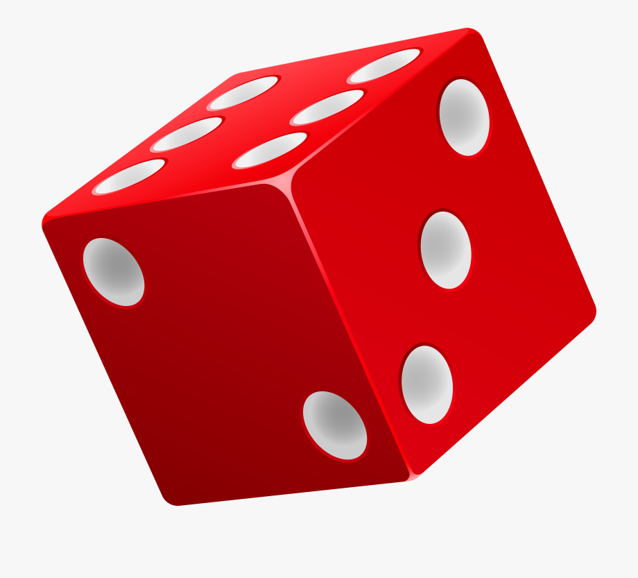 Dice red png.