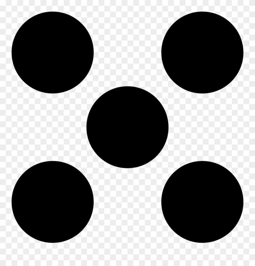Five dots like.