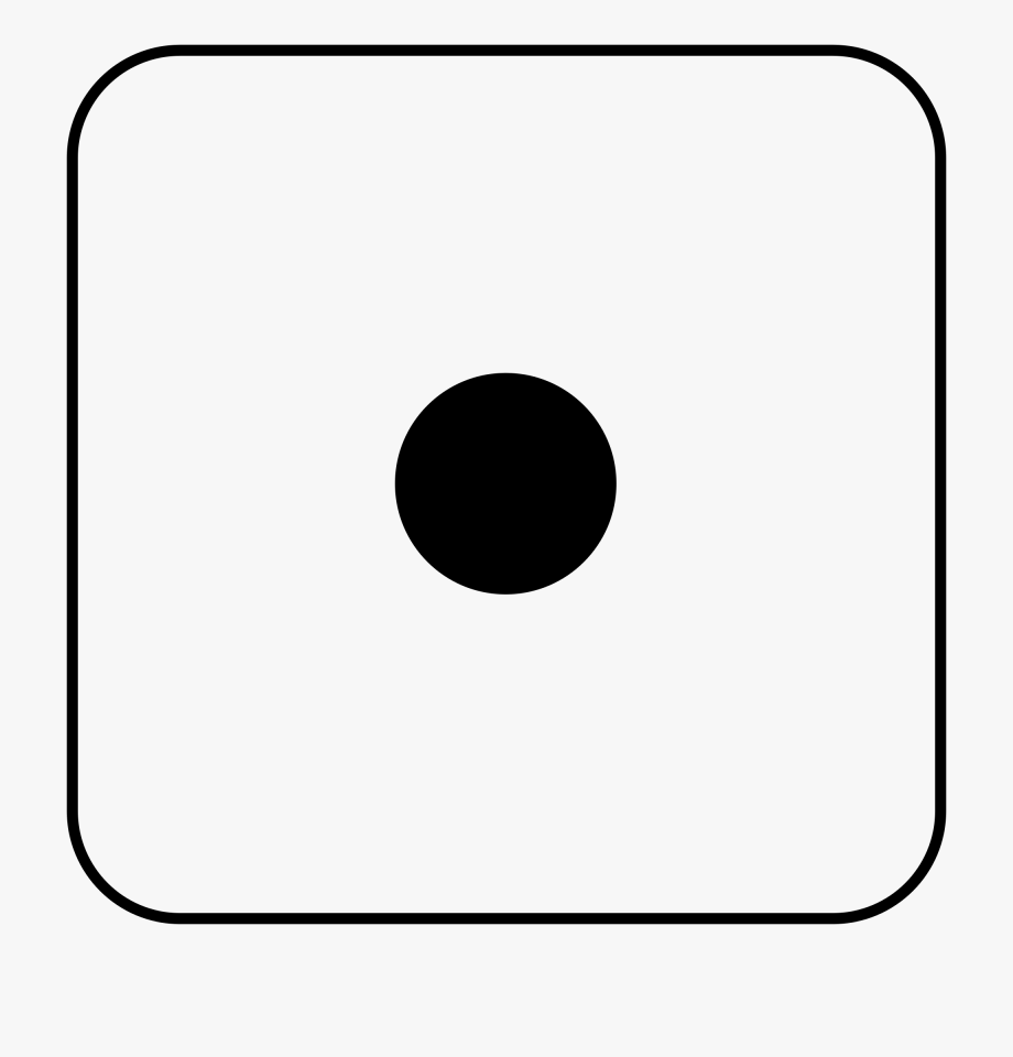 Dice clipart number.
