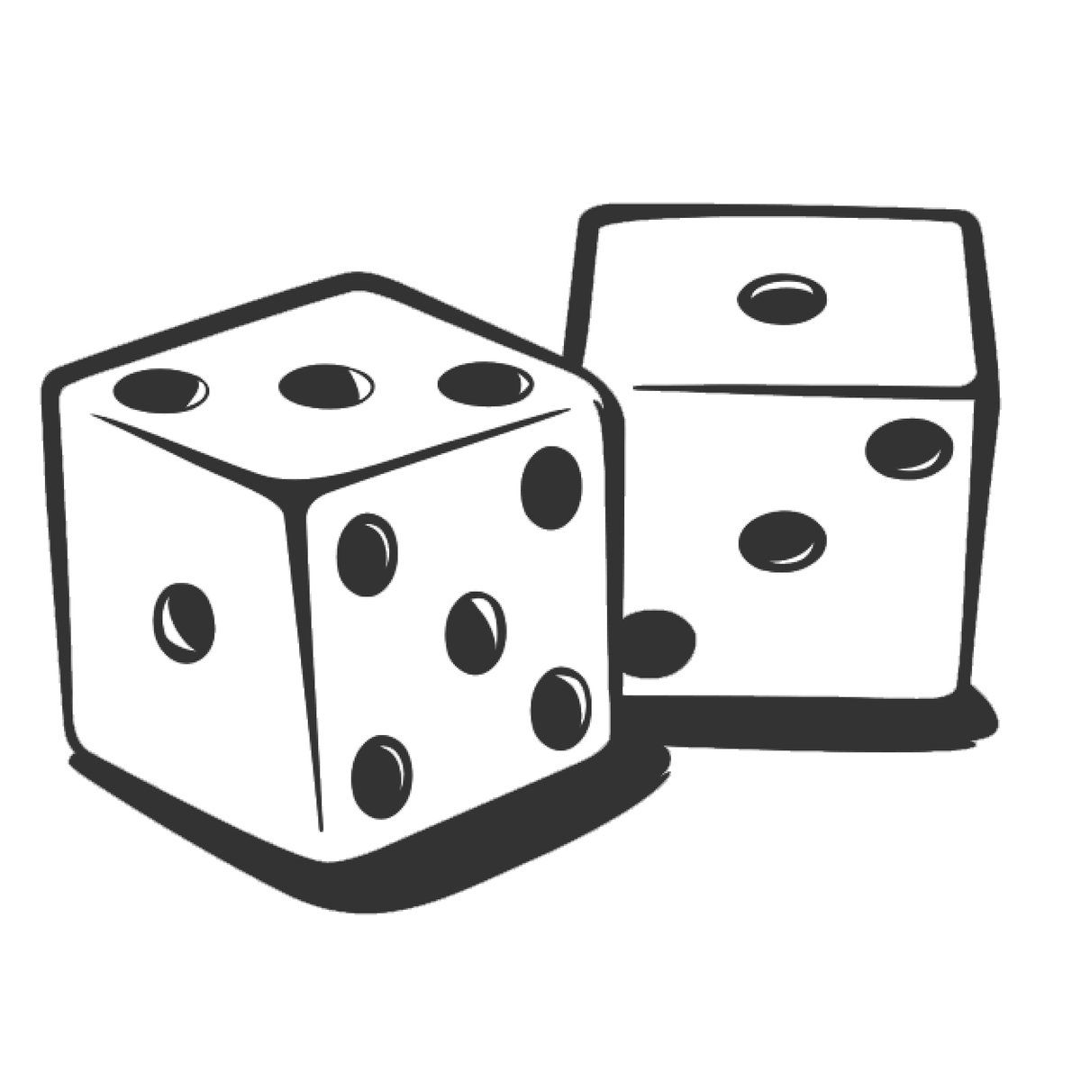 Gaming clipart roll.