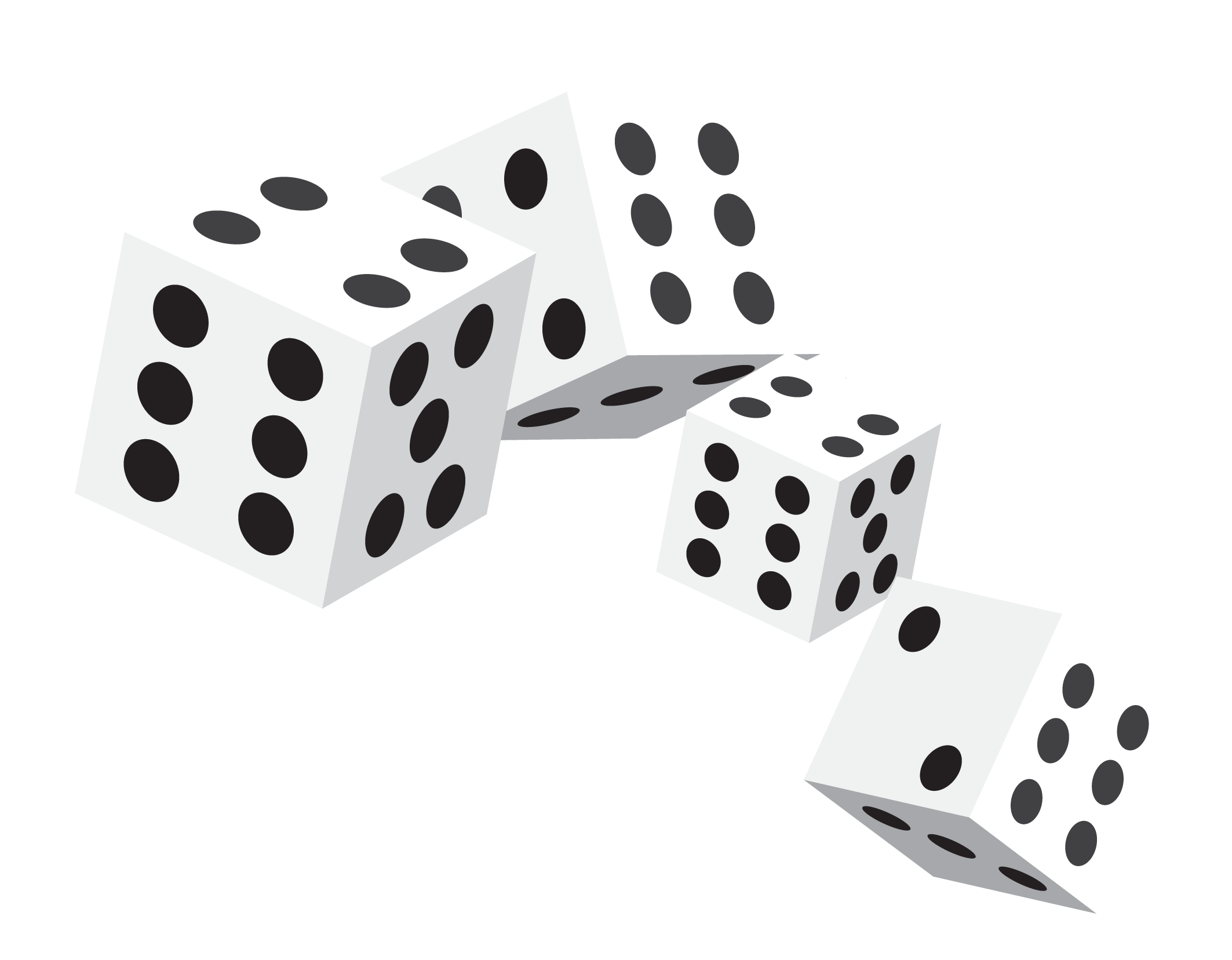 Dice scalable vector.