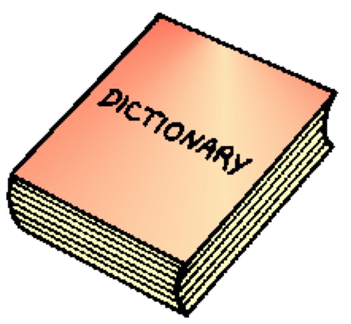 Dictionary clipart clip.