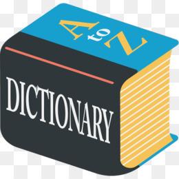 English dictionary png.