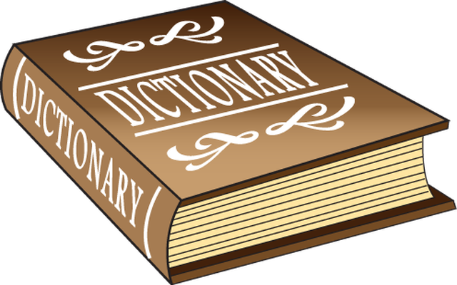 Free dictionary cliparts.