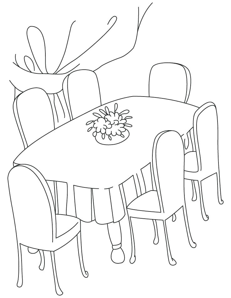 Dining Table Clipart fancy